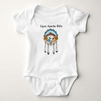 Body Para Bebê Bodysuit do jérsei do bebê de Lipan Apache