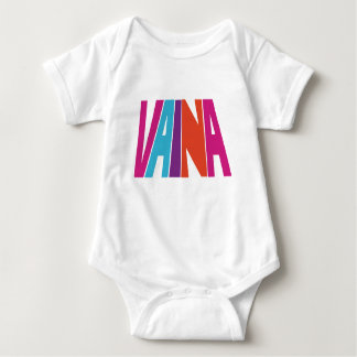 Body Para Bebê Bodysuit do jérsei do bebê de Vaina