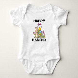 Body Para Bebê Bodysuit do jérsei do bebê do coelho do felz