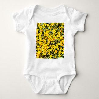 Body Para Bebê Bodysuit do jérsei do bebê do Wildflower