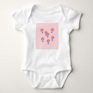 Body Para Bebê Bodysuit do jérsei do bebê dos balões de ar