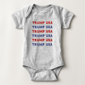 Body Para Bebê Bodysuit do jérsei do bebê dos EUA do trunfo