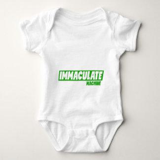 Body Para Bebê Bodysuit do jérsei do bebê - máquina imaculada