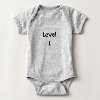 Body Para Bebê Bodysuit do jérsei do bebê - nível 1