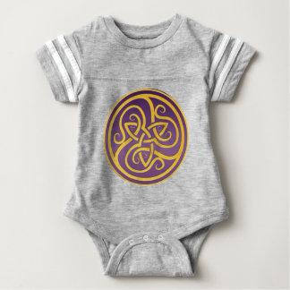 Body Para Bebê Bodysuit do jérsei do logotipo de AGK