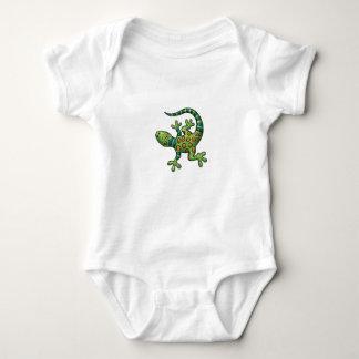 Body Para Bebê Bodysuit do jérsei - iguana dos desenhos animados
