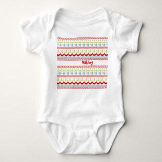Body Para Bebê Bodysuit do Natal para o bebê
