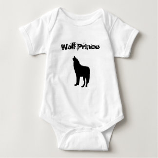 Body Para Bebê Bodysuit do príncipe do lobo