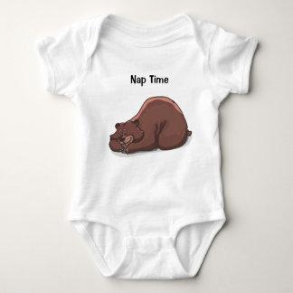 "Body Para Bebê Bodysuit do tempo sesta"" do jérsei do bebê da """