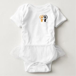 Body Para Bebê Bodysuit do tutu do bebê de Chacha