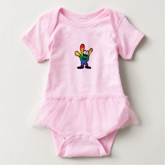 Body Para Bebê Bodysuit do tutu do bebê de ILY