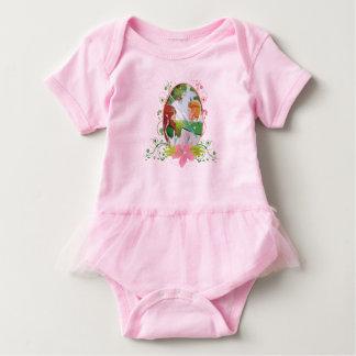 Body Para Bebê Bodysuit do tutu do bebê do rei e da rainha