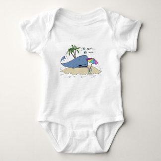 Body Para Bebê Bodysuit do vagabundo da praia para o bebê pelo