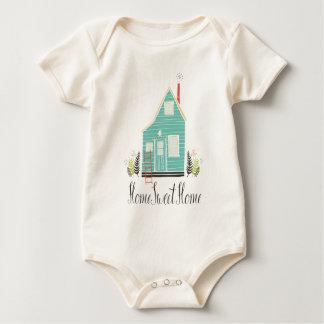 Body Para Bebê Bodysuit doce Home simples da casa |
