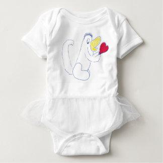 Body Para Bebê Bodysuit dos bebês do tutu do inseto do amor