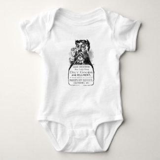 Body Para Bebê Bodysuit dos desenhos animados do vintage