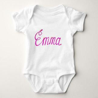 Body Para Bebê Bodysuit Emma do jérsei do bebê