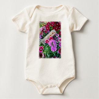 Body Para Bebê Bodysuit farpado do bebê do dragão