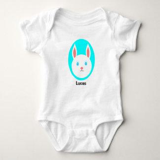 Body Para Bebê Bodysuit feito sob encomenda do bebê do coelhinho