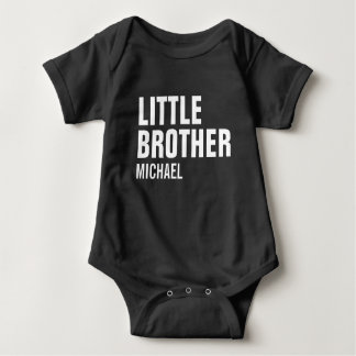 Body Para Bebê Bodysuit feito sob encomenda do bebê do irmão mais