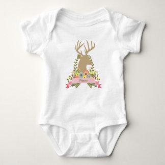 Body Para Bebê Bodysuit feito sob encomenda do jérsei do bebê dos