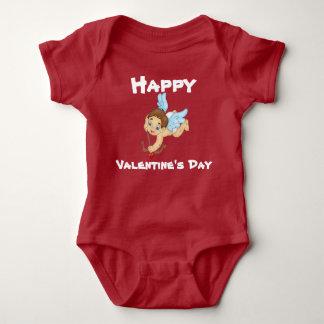 Body Para Bebê Bodysuit feliz do bebê do dia dos namorados