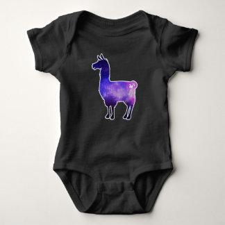 Body Para Bebê Bodysuit galáctico do bebê do lama