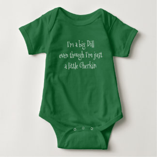 Body Para Bebê Bodysuit grande do verde do aneto
