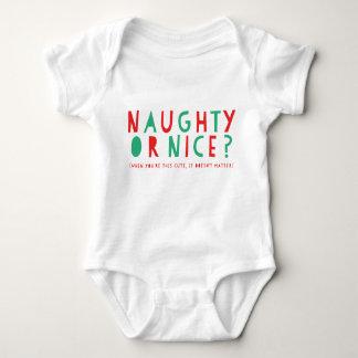 Body Para Bebê Bodysuit impertinente ou agradável do feriado de  