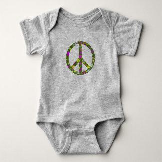 Body Para Bebê Bodysuit infantil do bebê do sinal do símbolo de
