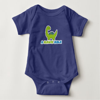 Body Para Bebê Bodysuit infantil do dinossauro