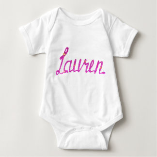 Body Para Bebê Bodysuit Lauren do jérsei do bebê