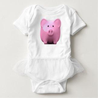 Body Para Bebê Bodysuit leitão do bebê de Lil