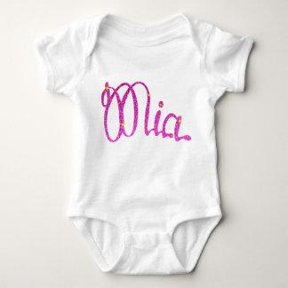 Body Para Bebê Bodysuit Mia do jérsei do bebê