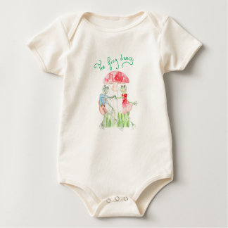 """Body Para Bebê """"Bodysuit orgânico do bebê da dança do sapo"""""""
