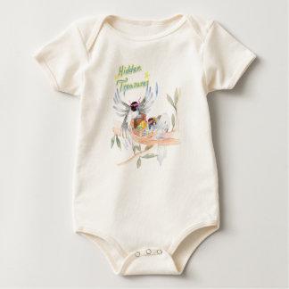 """Body Para Bebê """"Bodysuit orgânico do bebê dos tesouros"""