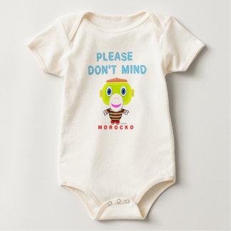 Body Para Bebê Bodysuit orgânico do bebê para o favorável ao meio