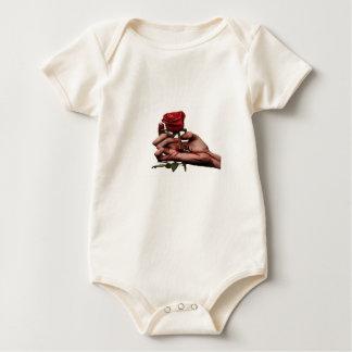 Body Para Bebê Bodysuit orgânico do roupa americano do bebê
