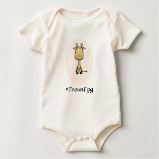Body Para Bebê Bodysuit orgânico do #TeamEgg