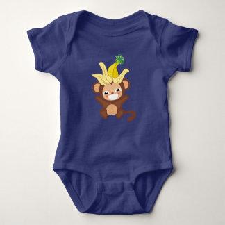 Body Para Bebê Bodysuit pequeno 101 do macaco