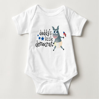 Body Para Bebê Bodysuit pequeno da Democrata do pai
