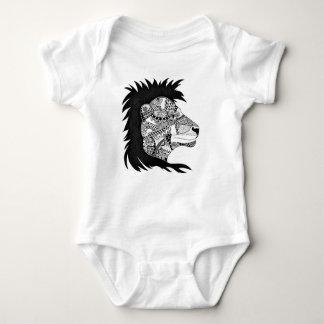 Body Para Bebê Bodysuit pequeno do bebê do leão