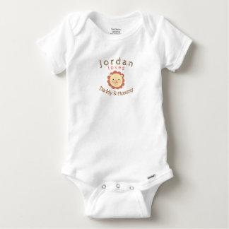 Body Para Bebê Bodysuit personalizado bonito do algodão de Gerber