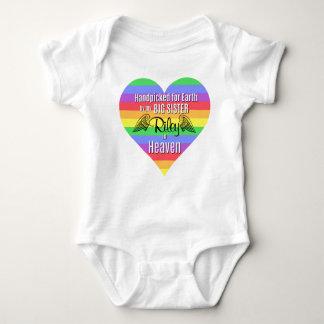 Body Para Bebê Bodysuit personalizado   da irmã mais velha do