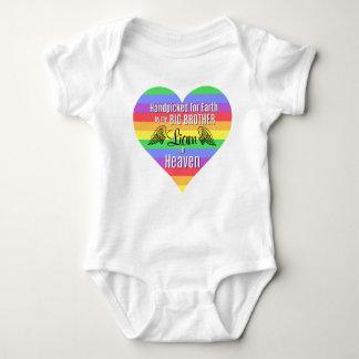 Body Para Bebê Bodysuit personalizado | do big brother do bebê |