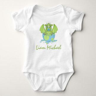 Body Para Bebê Bodysuit personalizado do jérsei do dragão do bebê