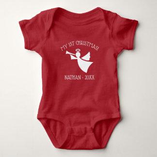 Body Para Bebê Bodysuit personalizado ø equipamento do Natal do