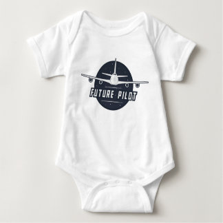 Body Para Bebê Bodysuit piloto futuro