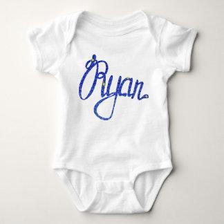 Body Para Bebê Bodysuit Ryan do jérsei do bebê
