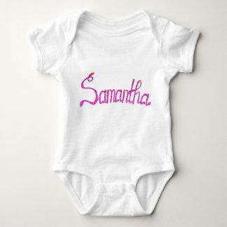 Body Para Bebê Bodysuit Samantha do jérsei do bebê
